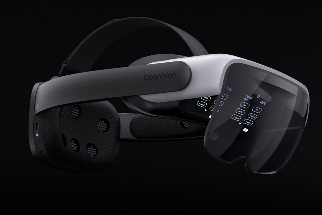 Cognixion's newest wearable is a brain-computer interface that uses AR to convert thought into speech!