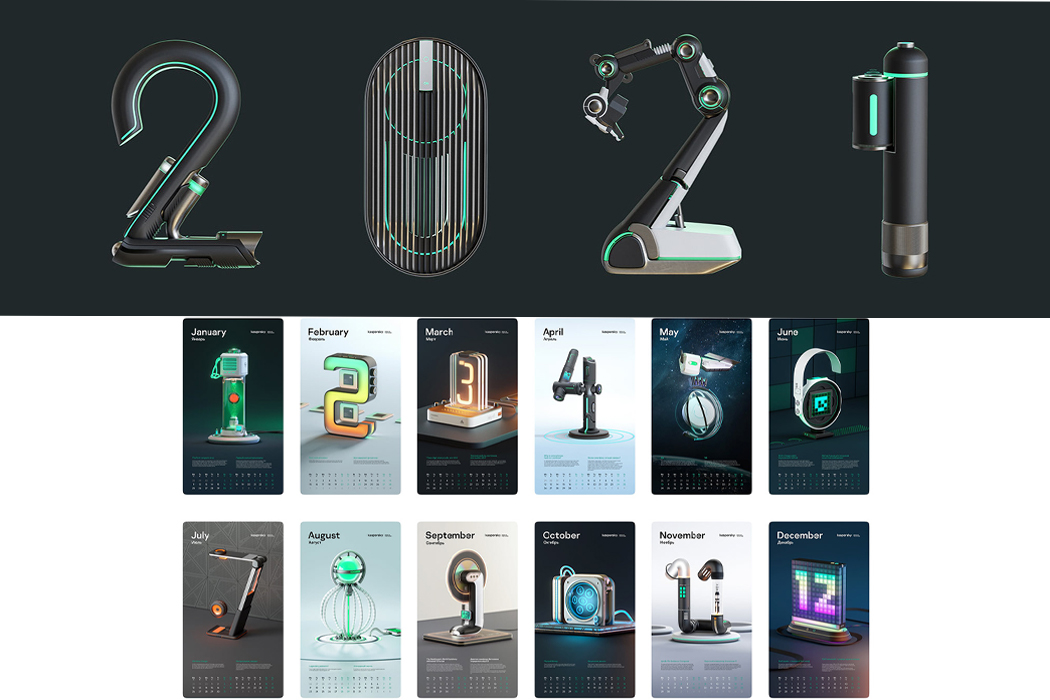Kaspersky's 2021 calendar comes with a mini cyber-history lesson that coincides with each numerical month!