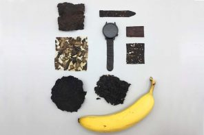 Using banana peels as a sustainable building material, you can now make everything from eyeglasses to watch straps!