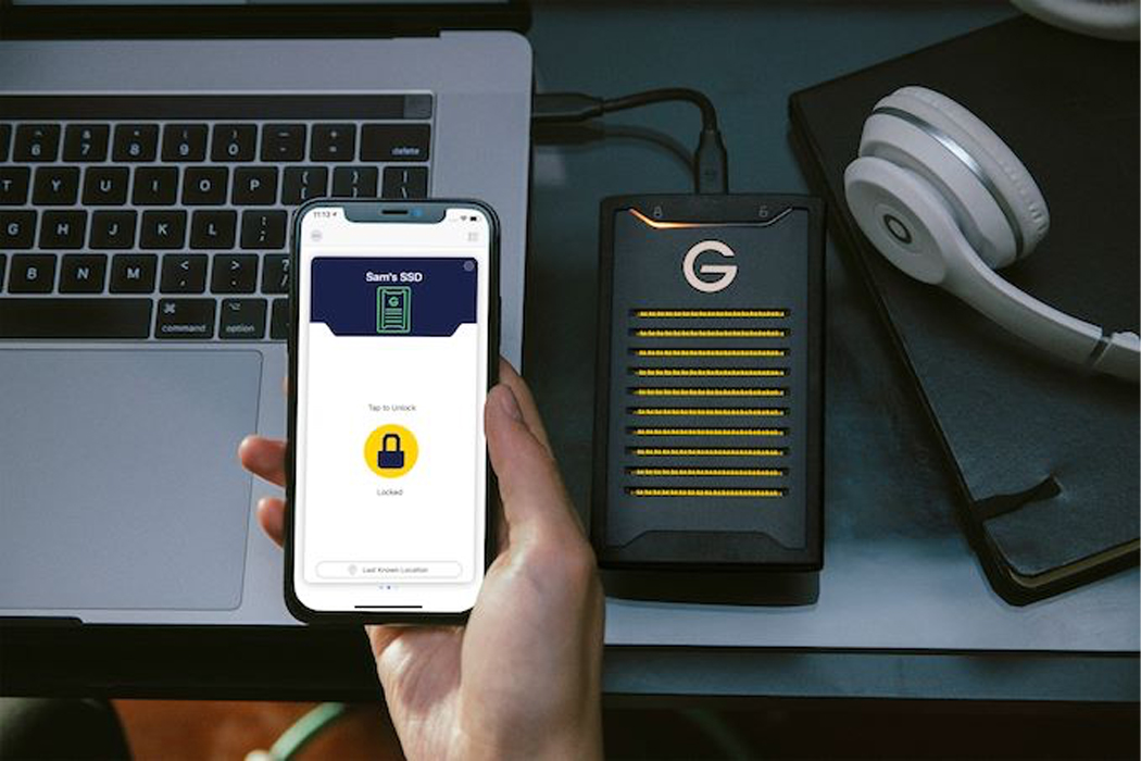 This high-speed SSD from Western Digital uses biometric authentication to keep your data safe!