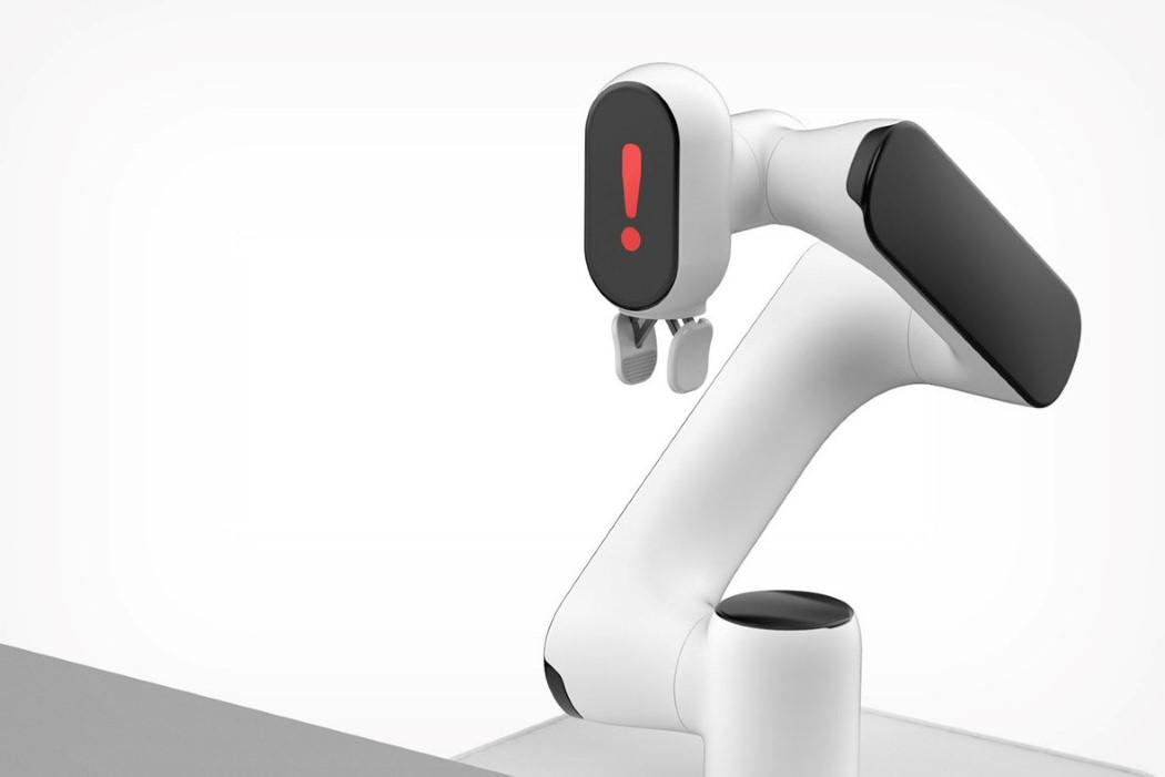 Эта роботизированная рука использует трюк из учебника Pixar, чтобы выглядеть «дружелюбным»