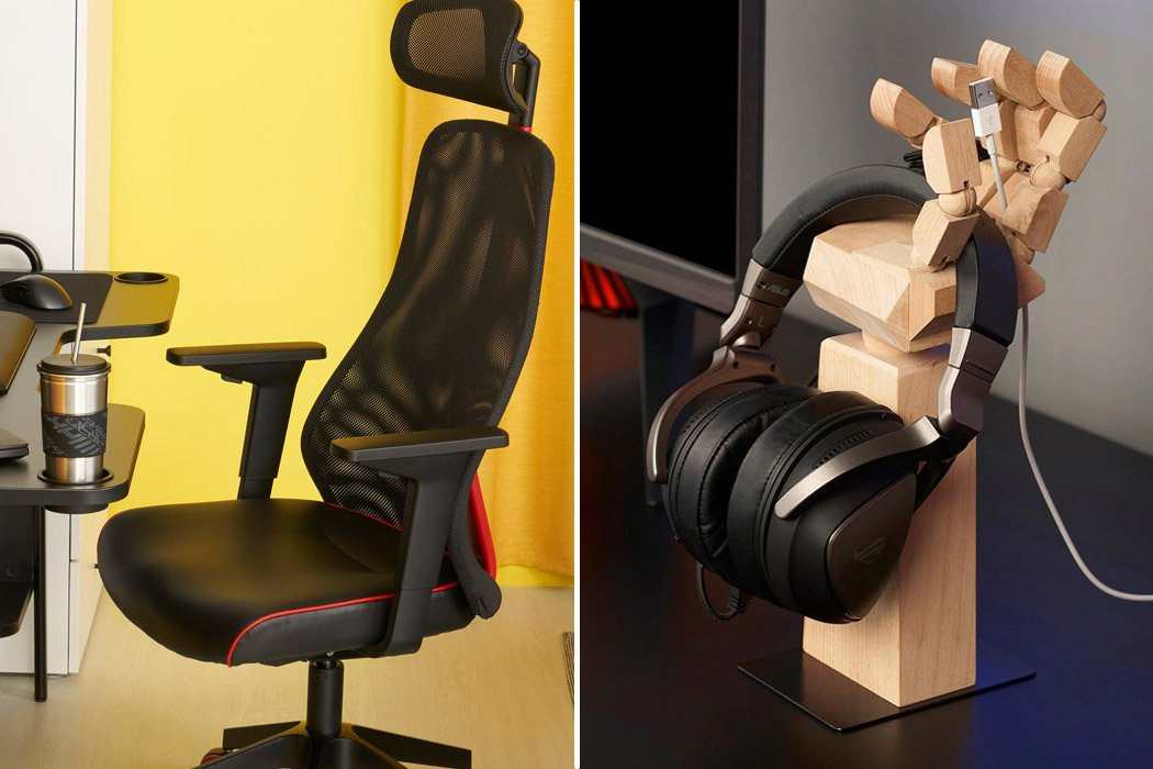 IKEA + Asus ROG launches gaming–centric furniture + accessories for the exponentially growing gaming industry!