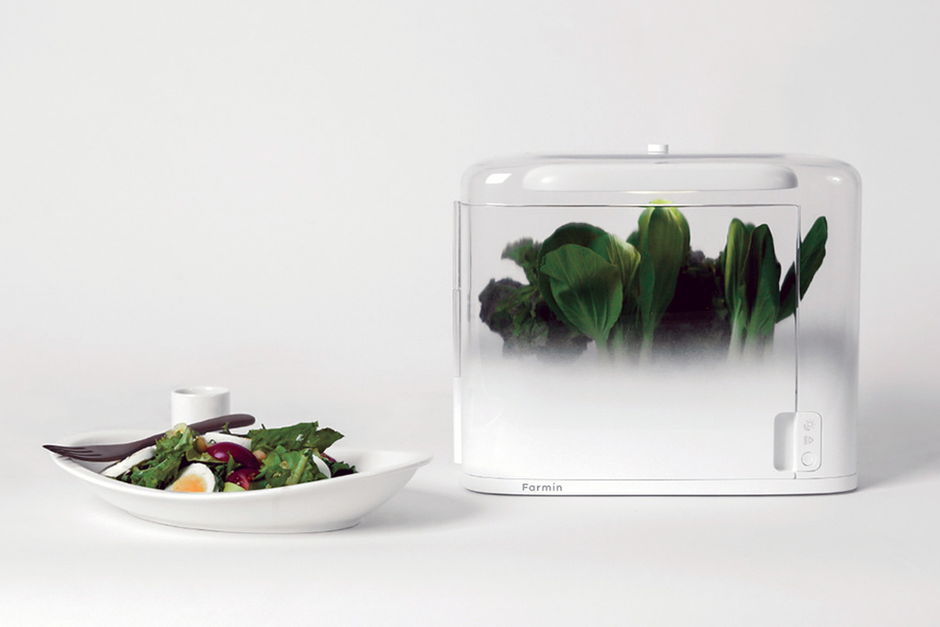 This tiny vegetable cultivator is an indoor garden for one, bring fresh food to your table!