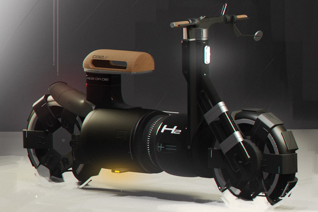 This robust bike packs a punch in its tiny, almost cute cylindrical avatar