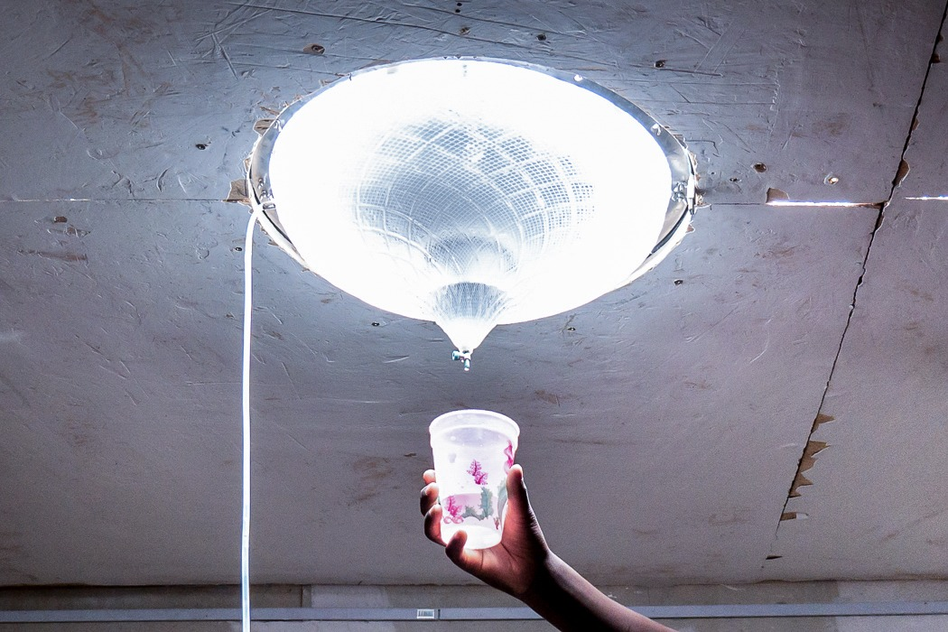 This innovative skylight uses light from the sun to purify drinking water