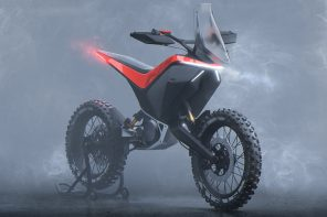 This KTM Light Adventure bike with detachable battery packs has got the looks