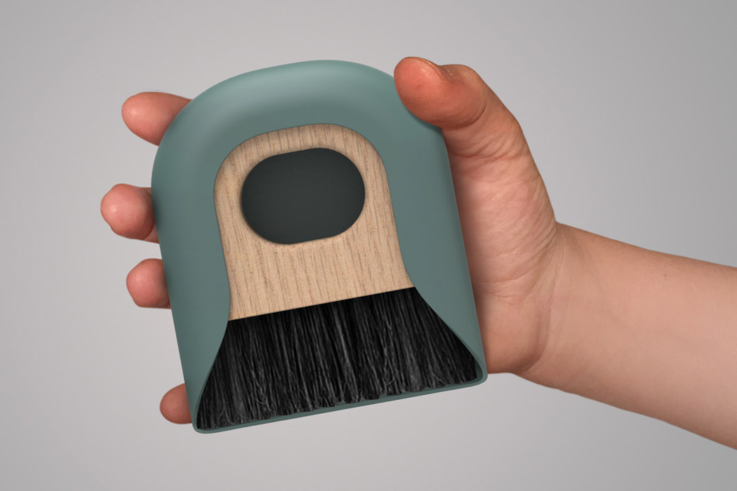 This personal dustpan is the easy and aesthetic way to keep your desk setup clean!