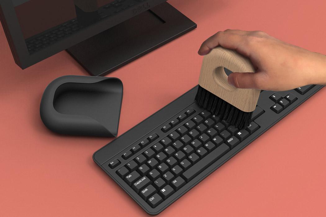 Этот персональный совок - простой и эстетичный способ содержать в чистоте рабочий стол!