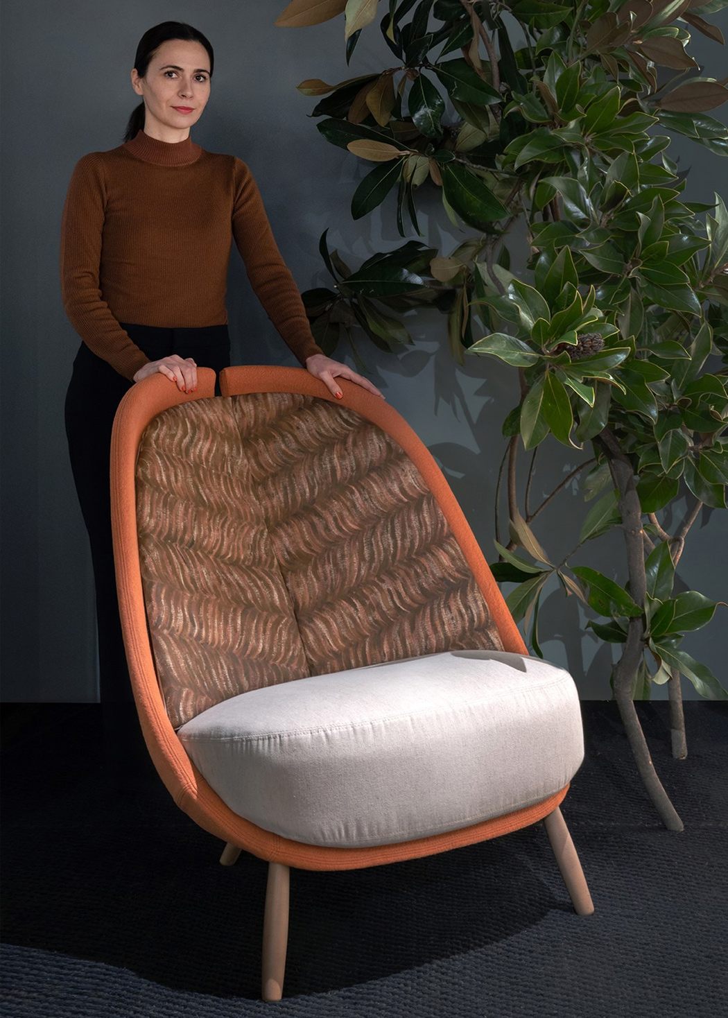This sustainably designed chair pushes for the circular economy model in design!