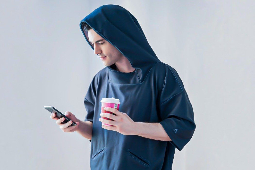 This graphene hoodie amplifies your body's heat, making you feel warmer in under 60 seconds