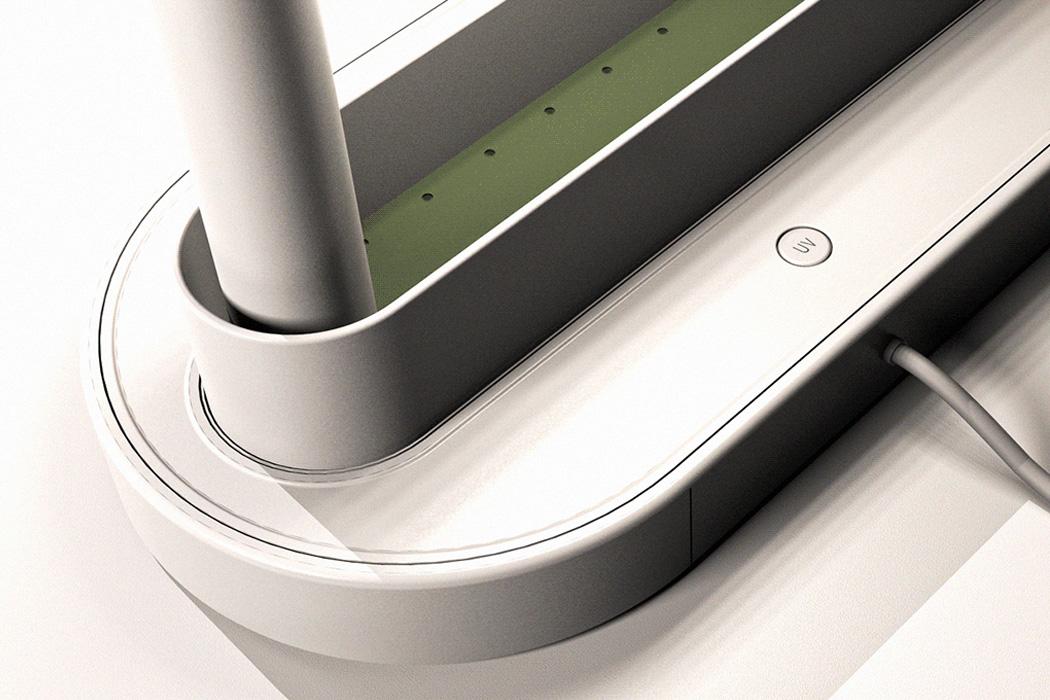 Этот минималистичный дизайн плантатора + настольная лампа - современный настольный аксессуар для каждого миллениального дома!