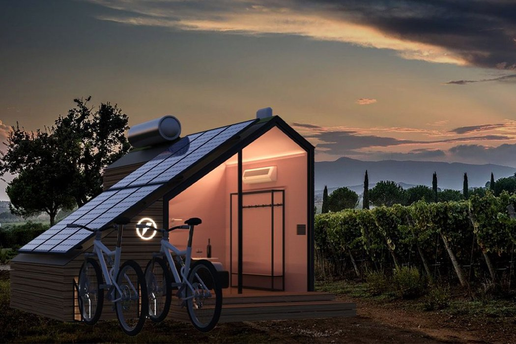 Solar energy cabins that serve as green homes, and help you live sustainably!