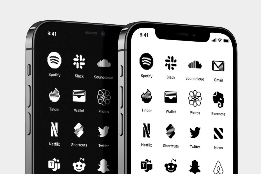 Retro iOS icon collection gives your iPhone a classic Apple Macintosh vibe!