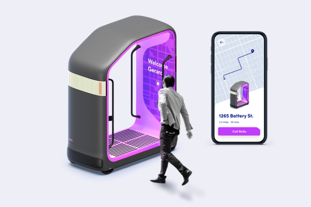 These autonomous pods are re-imagining safe public-transit by making local trams and buses smaller