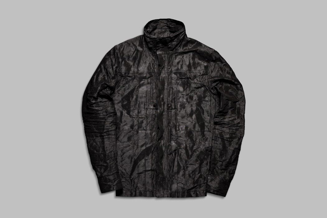 Vollebak's Indestructible Jacket is made from Dyneema – a material used to pull entire ships
