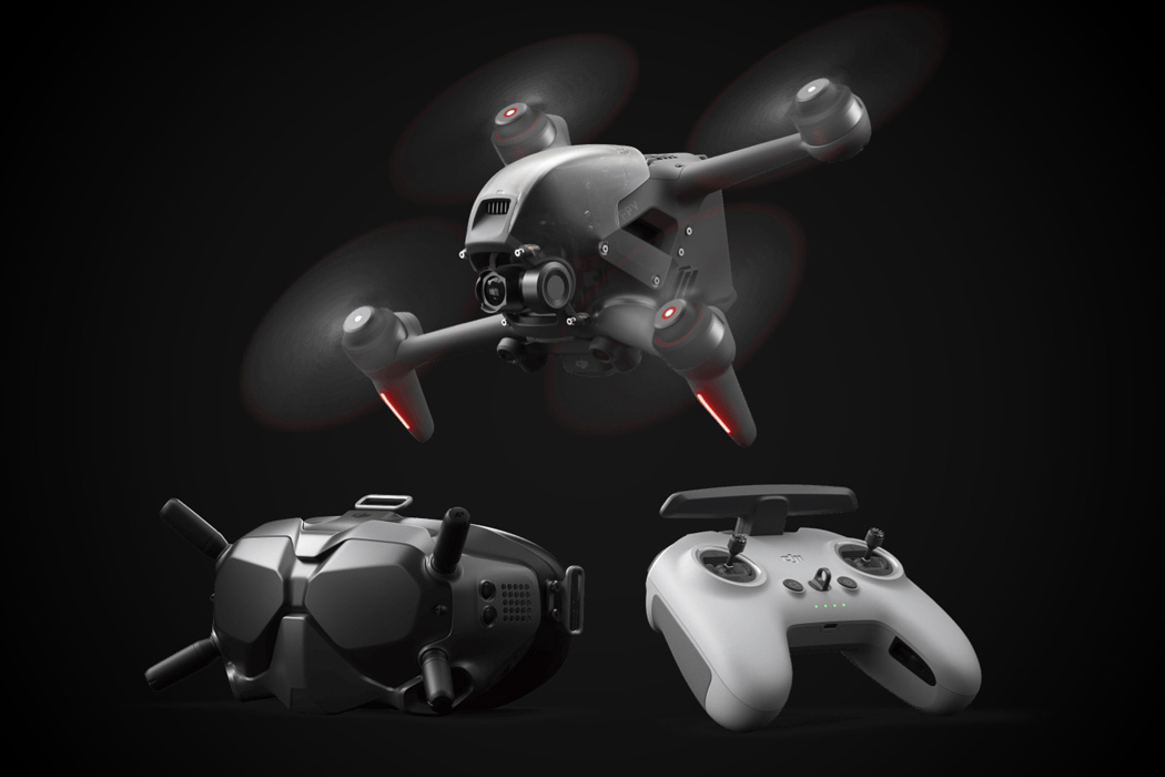 DJI's new FPV Drone gives you the superpower of flight… well almost!