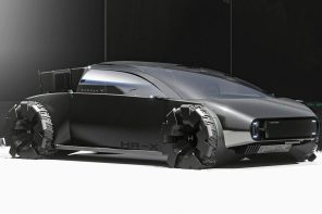 This Honda drag racer is a edgy futuristic car designed for the young and the restless!