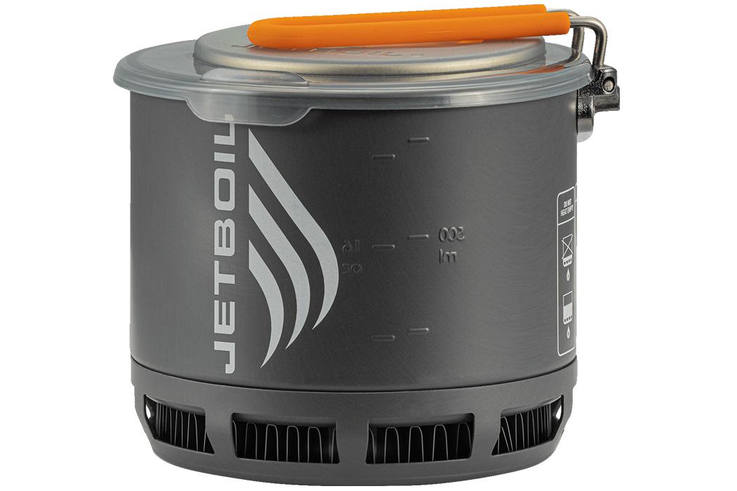 Jetboil Stash на 40% легче своего предшественника + самая компактная портативная кухонная плита!