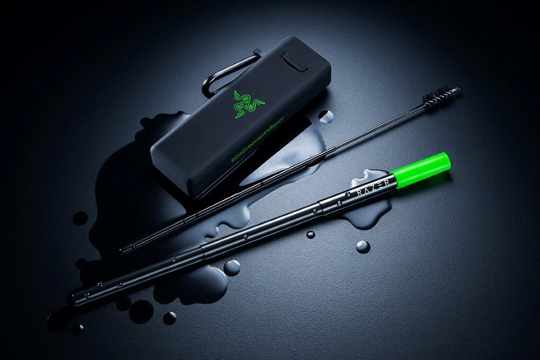 Razer's new stainless steel reusable straw makes sustainability 'sexy'!