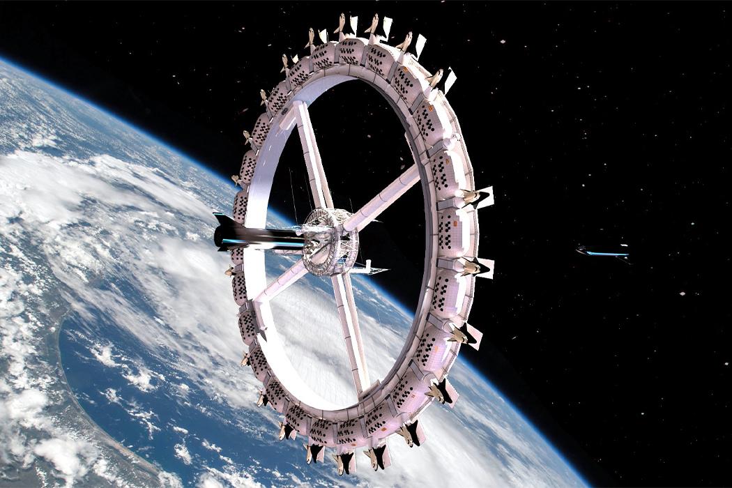 Первый в мире космический отель оживает в 2027 году!
