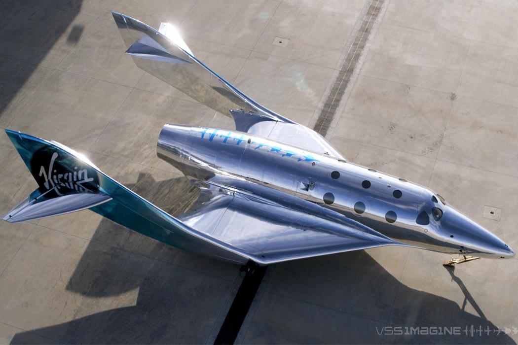 Virgin Galactic's shimmering, mirror-finished SpaceShip III readies for next-gen space flights!