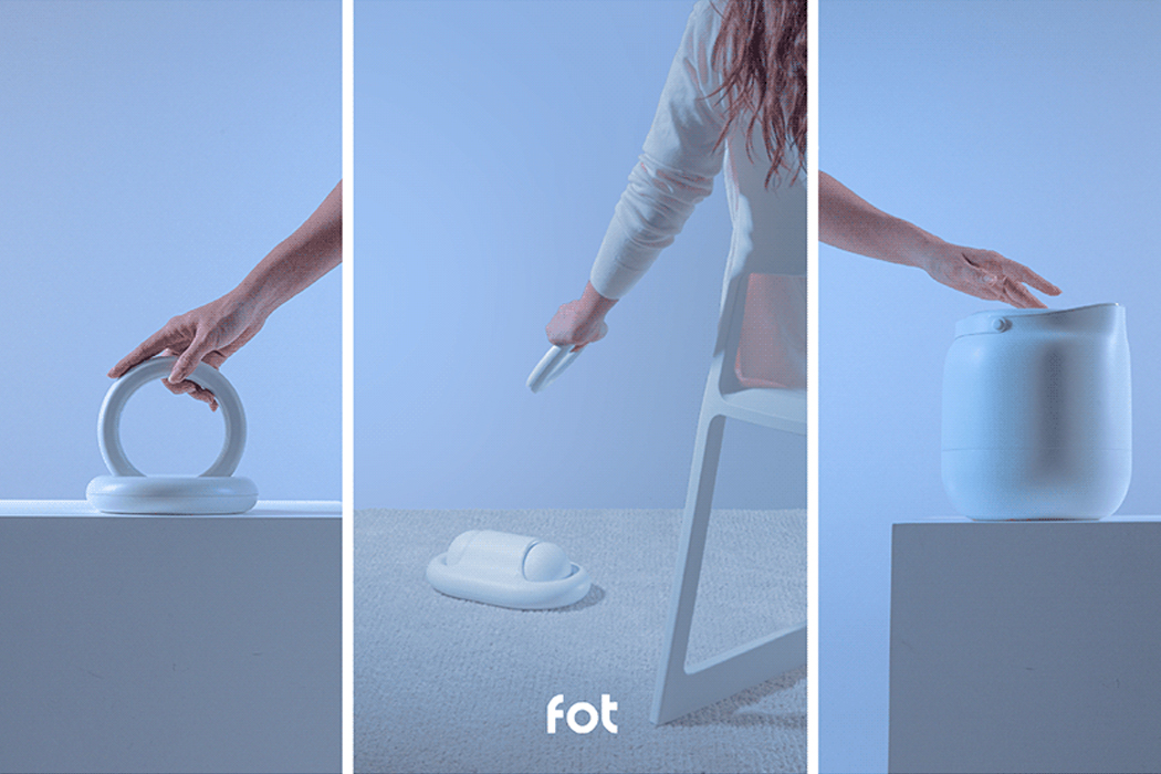 This modular appliance converts WFH+ daytime chores into an interactive fun session!