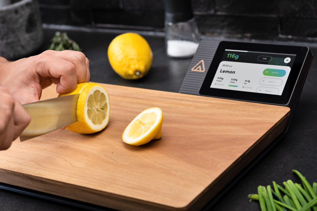 Ever wondered how many calories you eat? This smart cutting board tracks your food's nutritional value