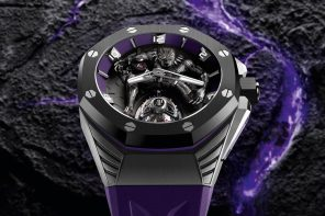Audemars Piguet's stunning Black Panther Flying Tourbillon watch pays tribute to Wakanda's King