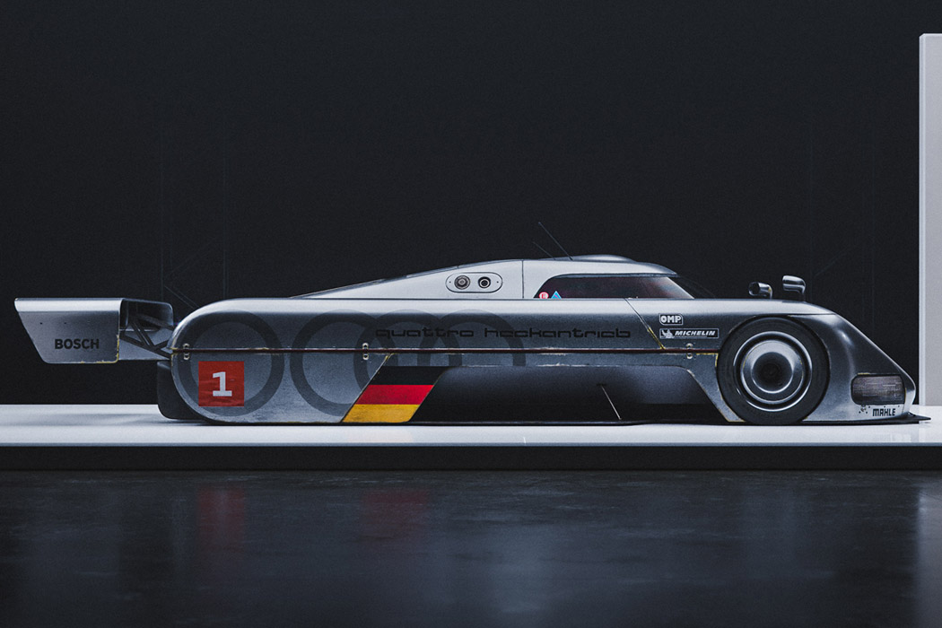 This Audi Quattro racer with its grungy dystopian aesthetics is what the Mad Max sequel needs!