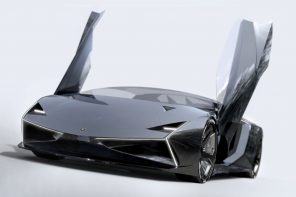 The Lamborghini Tornado is an electric supercar running on clean energy with an even cleaner design