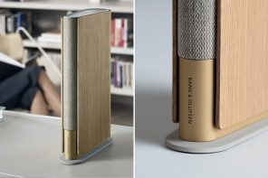 Bang and Olufsen meets LAYER design for a modular bookshelf speaker that embodies the tiny but mighty spirit!