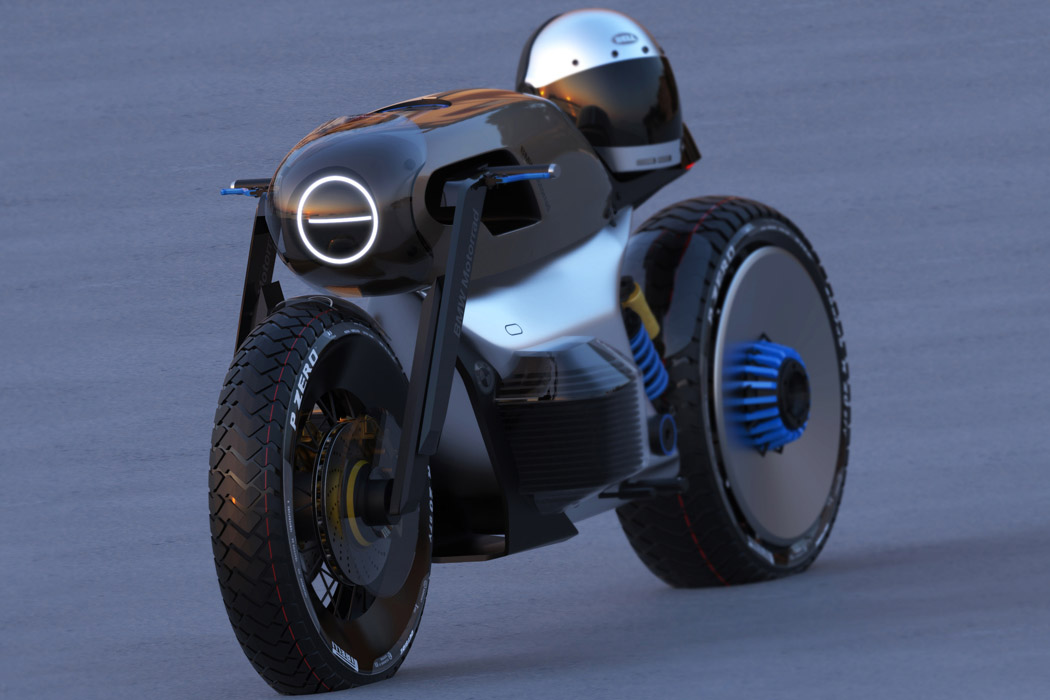 BMW Ki Concept is an electric café racer for urban Wild Hogs