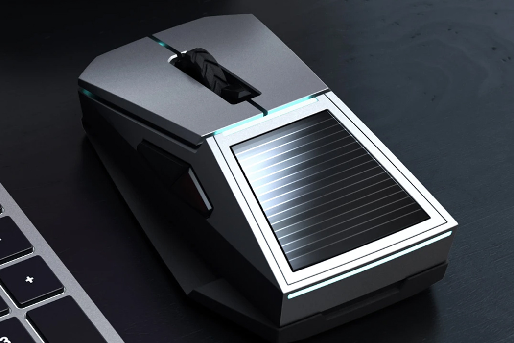 Meet the Cybertruck inspired bulletproof mouse enabled with solar + wireless charging that could have been