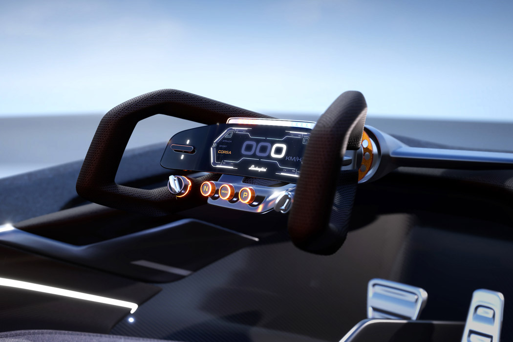 The Sustainable Lamborghini Of The Future – The Lamborghini E_X Electric Automotive Concept! 45