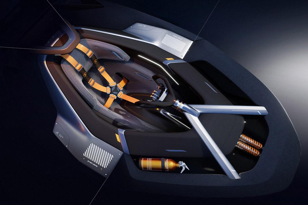 The Sustainable Lamborghini Of The Future – The Lamborghini E_X Electric Automotive Concept! 44