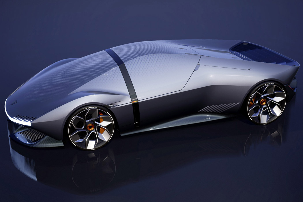 Meet the sustainable Lamborghini of the future – The Lamborghini E_X electric automotive concept!