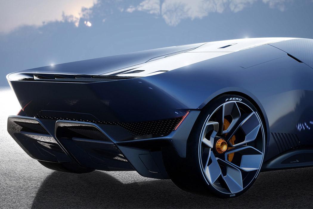 The Sustainable Lamborghini Of The Future – The Lamborghini E_X Electric Automotive Concept! 49