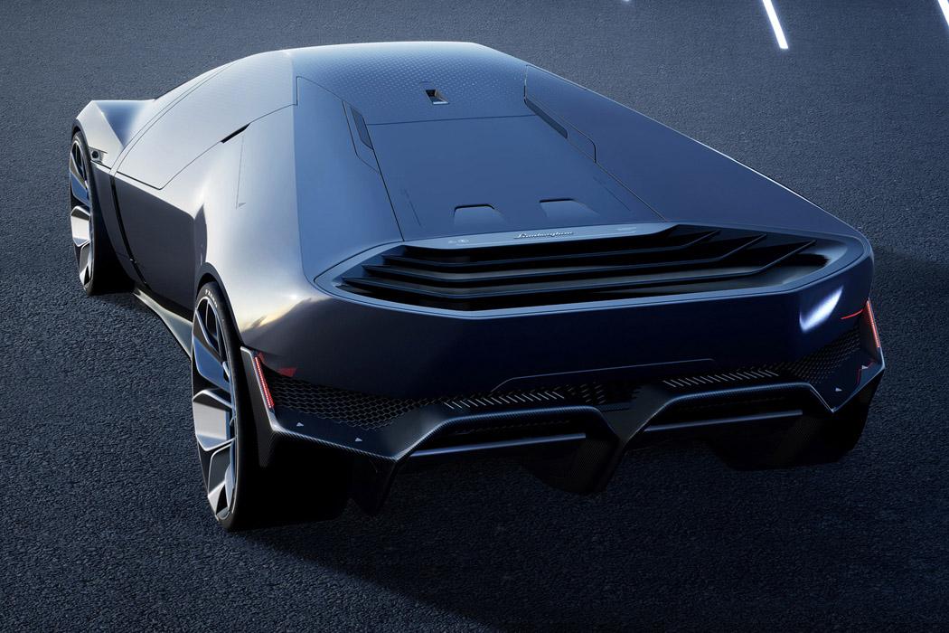 The Sustainable Lamborghini Of The Future – The Lamborghini E_X Electric Automotive Concept! 38