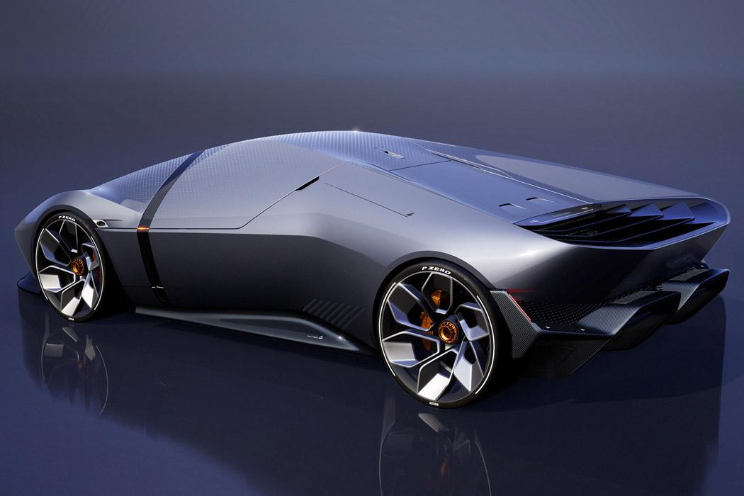 The Sustainable Lamborghini Of The Future – The Lamborghini E_X Electric Automotive Concept! 52