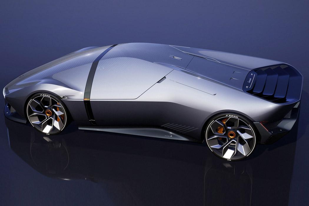 The Sustainable Lamborghini Of The Future – The Lamborghini E_X Electric Automotive Concept! 36