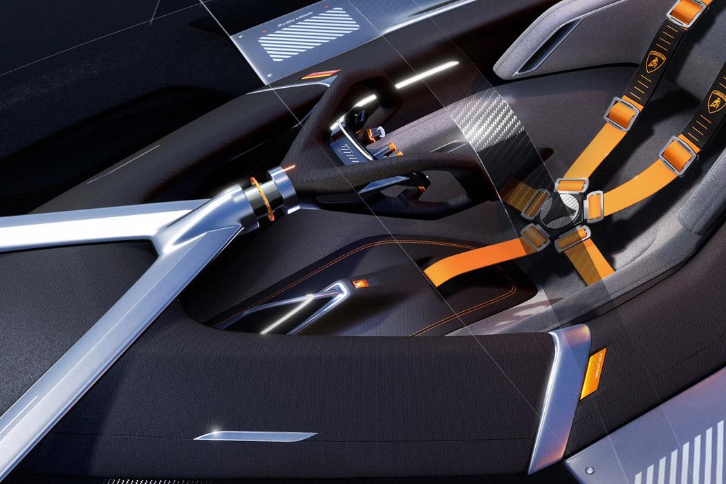 The Sustainable Lamborghini Of The Future – The Lamborghini E_X Electric Automotive Concept! 48