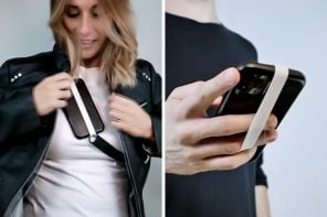 This nifty silicone strap can attach to any smartphone case, giving you an instant grip!