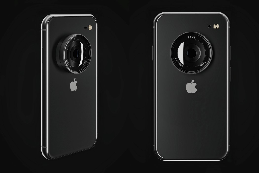 Should Apple just build a bigger, better single-lens camera into the iPhone??