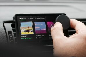"Spotify launches its first hardware device, a touchscreen player for your car called the ""Car Thing"""