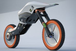 This animal-shaped autonomous racing bike of the future fears no G-forces!