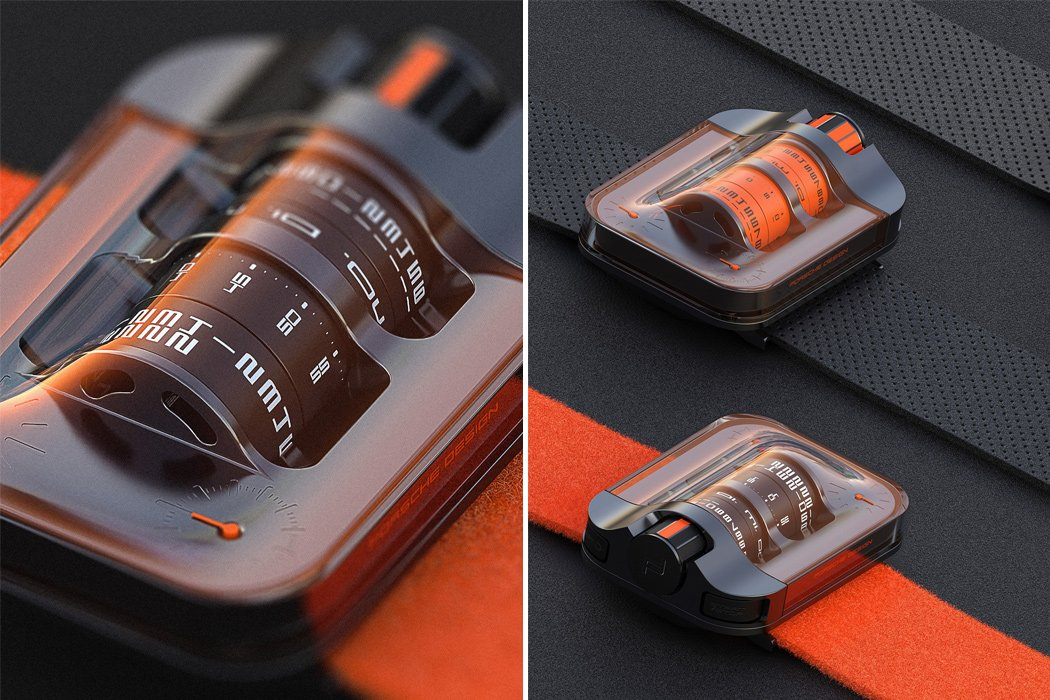 This Porsche Design watch's profound dial is influenced by Porsche's first win of 24 Hours of Le Mans race!