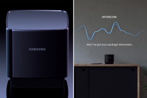 This Samsung short-throw projector merges with Bixby to create a gadget that does it all!