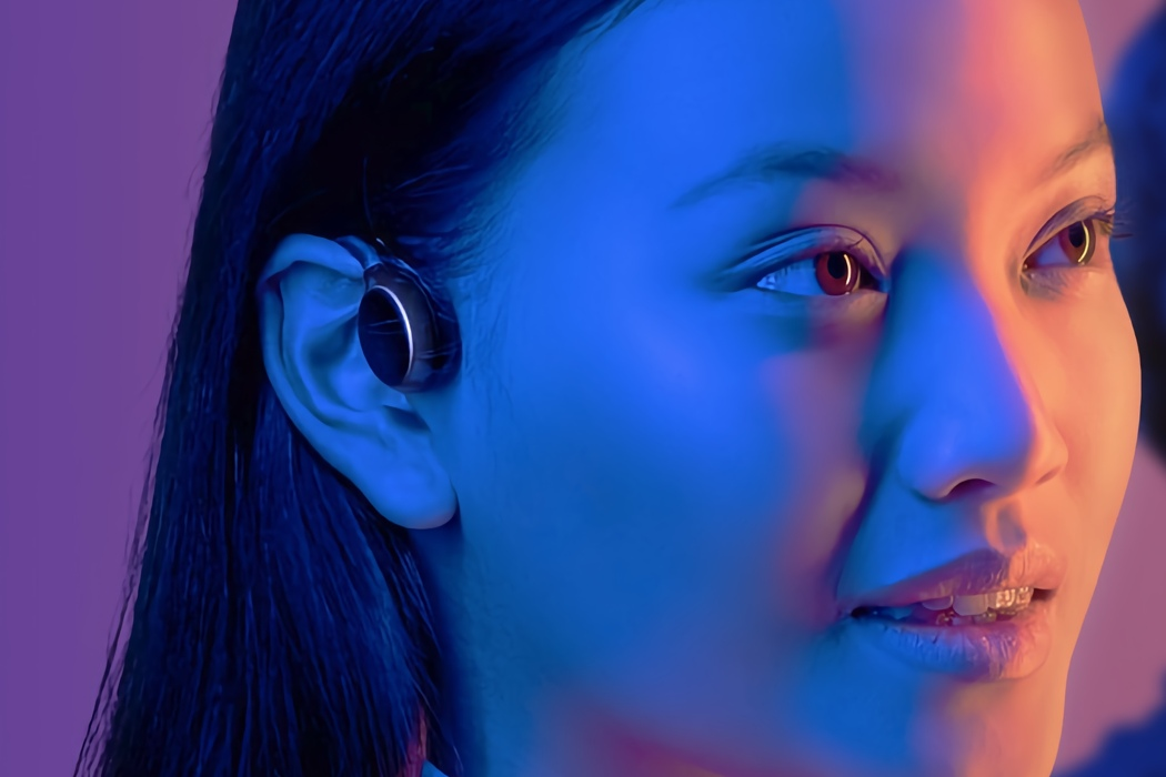 This smart open-ear headset wants to combine AirPods and Neuralink into one wearable device