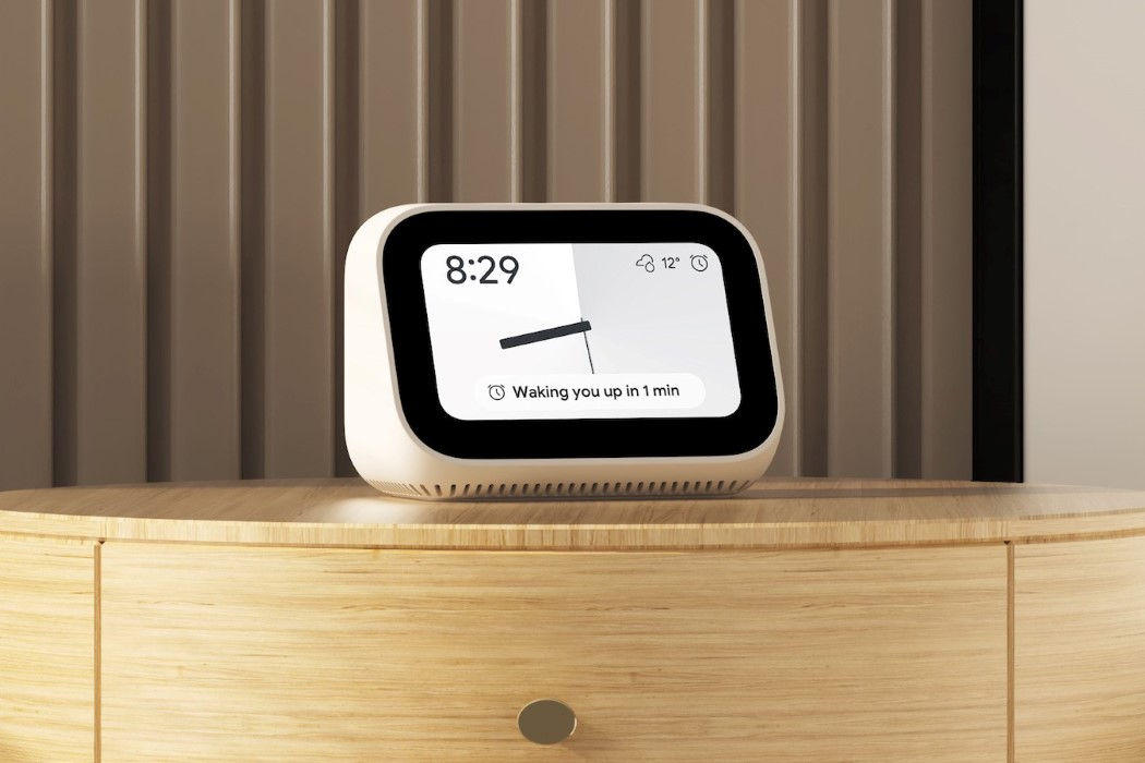 Xiaomi's new $59 Smart Clock is a super-affordable alternative to the Amazon Echo Show
