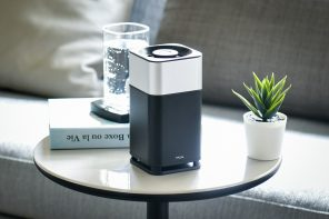 This portable home air purifier uses the same filtration technology found on the International Space Station